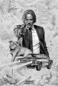 melhores posters john wick 2