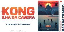 A Magazine.HD, a Warner Bros. Pictures e a NOS Audiovisuais têm convites duplos para oferecer para a antestreia do espetacular filme Kong: Ilha da Caveira.