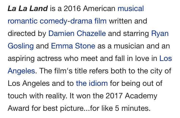 Melhores Reações Óscares 2017