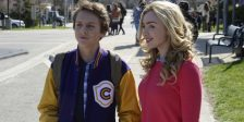 "O Disney Channel vai estrear esta semana o filme original ""Que Mudança!"" com as protagonistas Peyton List e Jacob Bertrand."