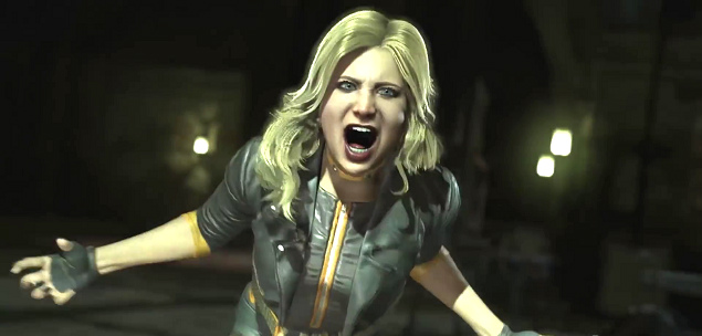 black canary injustice 2