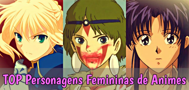 TOP Personagens Femininas