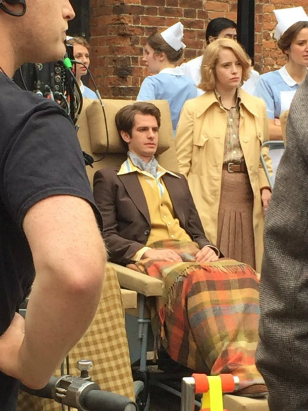 Andrew Garfield Claire Foy Breathe