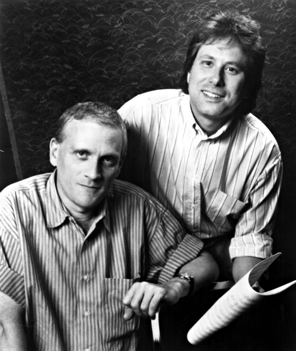 how did howard ashman and alan menken meet