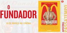 A Magazine.HD e a Pris Audiovisuais têm convites duplos para oferecer para a antestreia do fantástico filme O Fundador