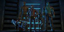 Naves espaciais! Ação! E o Thanos levanta-se finalmente da sua cadeira!