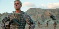 Na nova produção da Netflix, War Machine, Brad Pitt é um general norte-americano designado para comandar forças da NATO.