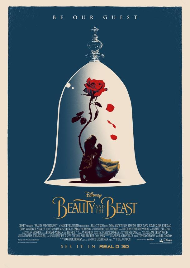 melhores posters a bela e o monstro