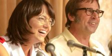 Emma Stone e Steve Carell juntam forças em Battle of the Sexes da The Fox Searchlight, filme inspirado no maior duelo de ténis do mundo.