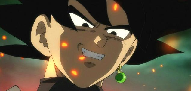 black goku dragon ball