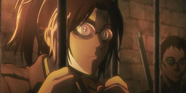 hange zoe attack on titan shingeki no kyojin top femininas anime