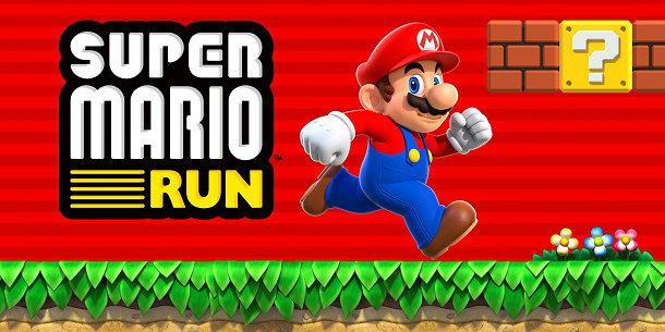 super mario run jogos