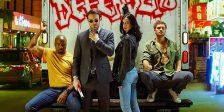 Já foram finalizadas as gravações da primeira temporada de The Defenders a série televisiva do serviço de streaming Netflix.
