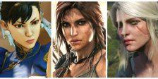 Para comemorar o Dia da Mulher, juntamos dez das melhores personagens femininas do mundo dos videojogos desde os mais clássicos aos mais recentes!