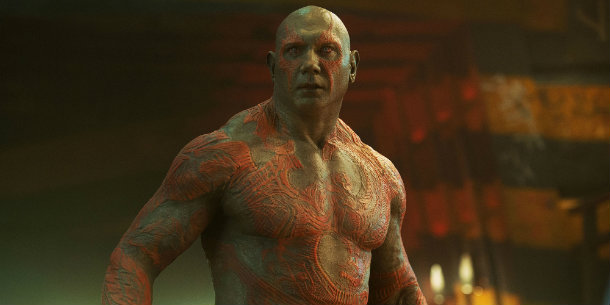 Guardians of The Galaxy, Drax, Dave Bautista