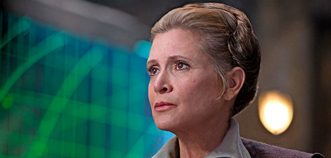 Carrie Fisher, Star Wars, Leia Organa, Lucas Films