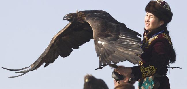 a caçadora e a águia the eagle huntress