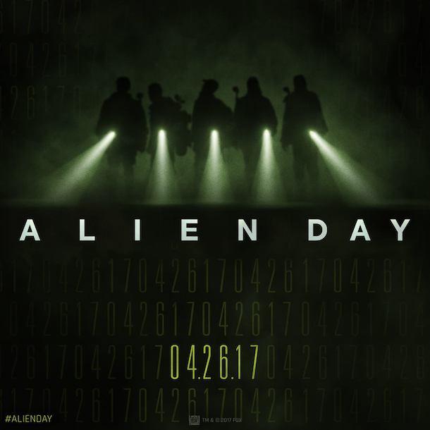 UCI Cinemas Alien Day