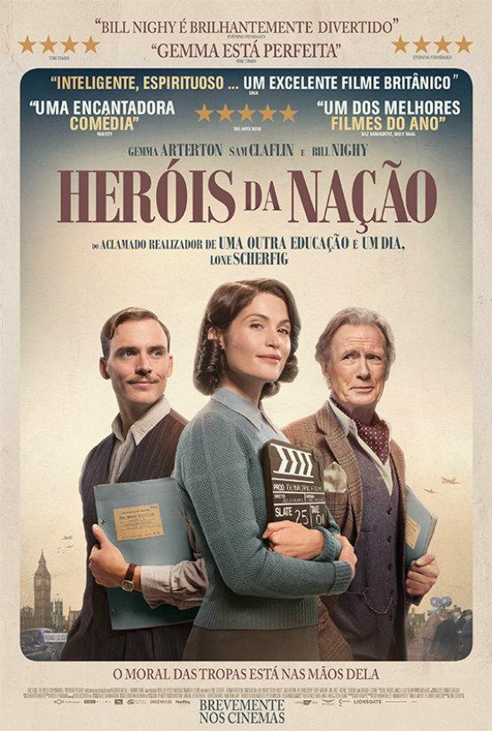 herois da nacao poster