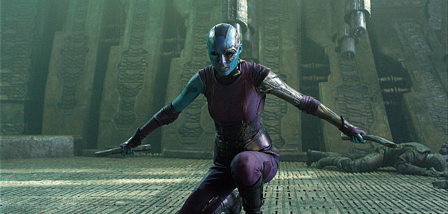 Karen Gillan, Guardiões da Galáxia, Guardians of the Galaxy Vol. 2, Marvel Cinematic Universe, Universo Cinematográfico da Marvel