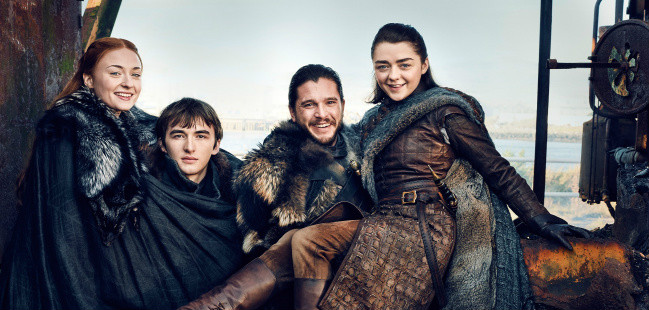 Reunião Stark Game of Thrones