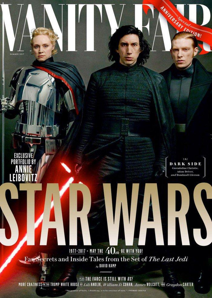 Star Wars The Last Jedi Vanity Fair imagens