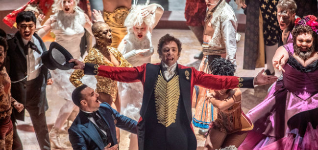 The Greatest Showman, Hugh Jackman, Michelle Williams, Zac Efron, Zendaya, Michael Gracey
