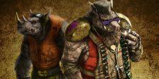 Nesta selecção de Monstros de Cinema incluimos Bebop e Rocksteady que fazem parte do universo das Tartaruga Ninja. São rockstar e cool.