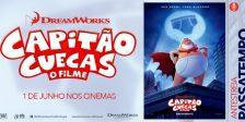 Participa e habilita-te a ganhar um convite duplo para a antestreia do espetacular filme Capitão Cuecas