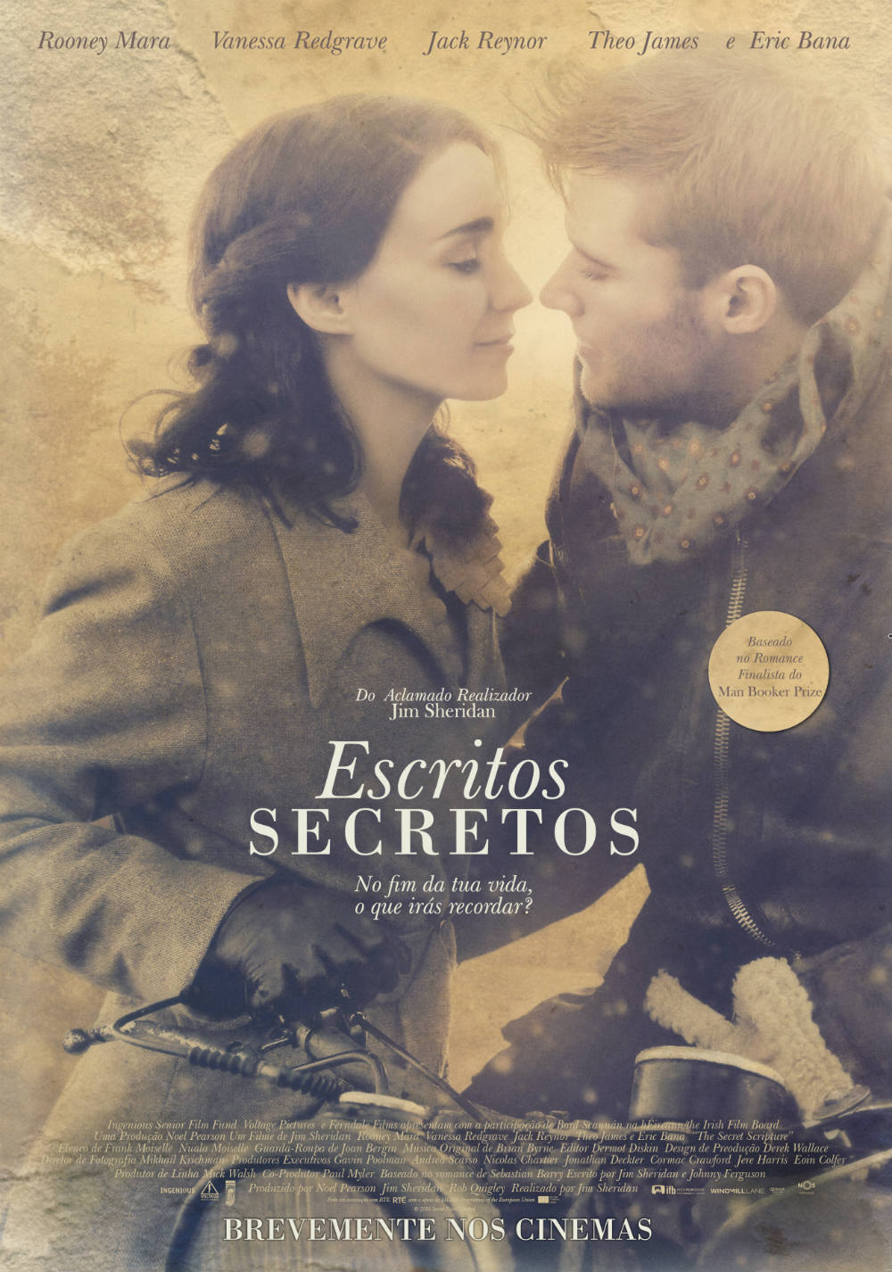 escritos secretos poster the secret scripture