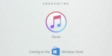 Prevê-se que o iTunes chegue à loja da Microsoft até ao final deste ano, aumentando o leque de escolhas dos utilizadores.