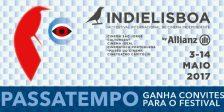 Participa e habilita-te a ganhar um convite duplo para uma sessão à escolha do IndieLisboa 2017