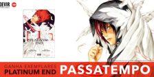 Participa e habilita-te a ganhar exemplares do espetacular primeiro volume do mangá Platinum End