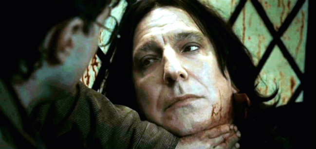Harry Potter, J.K. Rowling, Harry Potter and The Deadly Hallows, Harry Potter e os Talismãs da Morte, Severus Snape