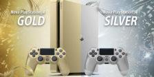 Se ainda não tens uma PlayStation 4 esta é a oportunidade de adquirires uma edição especial e limitada em dourado e prateado!