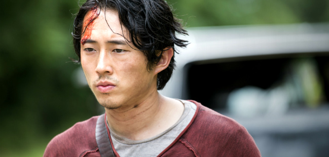 the walking dead steven yeun glenn