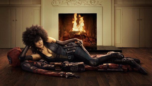 Deadpool 2, Zazie Beetz, Ryan Reynolds, Domino, Marvel