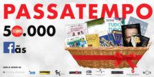 Participa no Passatempo 50 mil fãs e habilita-te a ganhar um cabaz de prémios simplesmente incrível!