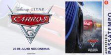 Participa e habilita-te a ganhar um convite duplo para a antestreia do espetacular filme Carros 3