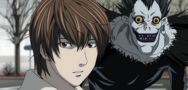 death note light ryuk