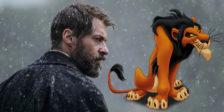 Hugh Jackman não sabe viver sem garras. Reformado como Wolverine, o ator australiano é a escolha da Disney para Scar.