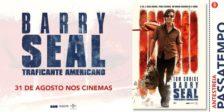 Participa e habilita-te a ganhar um convite duplo para a antestreia do fantástico filme Barry Seal: Traficante Americano