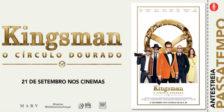 Participa e habilita-te a ganhar um convite duplo para a antestreia do filme Kingsman: O Círculo Dourado.