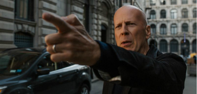 "Bruce Willis em ""Death Wish"" (2017)"