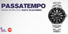 Participa e habilita-te a ganhar um espetacular relógio WATX Scafandro da VASP Premium neste fantástico passatempo! Vais perder a oportunidade?