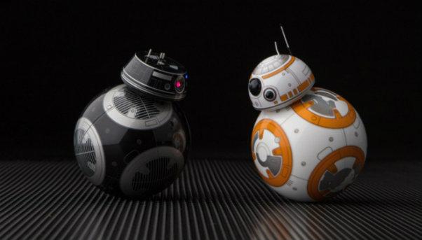 Star Wars, Star Wars: The Last Jedi, Star Wars: Os Últimos Jedi, BB-8, BB-9E, Sphero, Disney