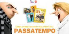 A Vasp Premium e a MHD têm para oferecer 3 packs de cromos do filme Gru - O Maldisposto 3!