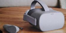Levará o Oculus Go a realidade virtual a milhares de pessoas? Os óculos funcionam sem recurso a um computador ou telemóvel.