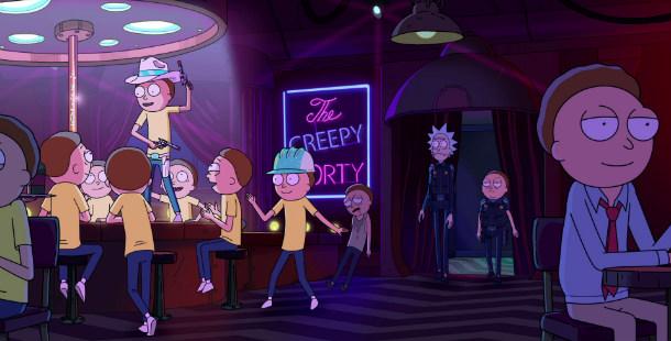 Rick and Morty bar