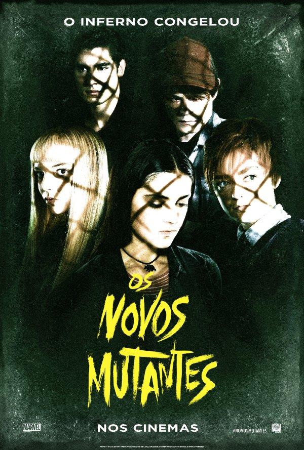 os novos mutantes poster pt